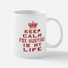 Keep Calm and Fox Hunting Mug