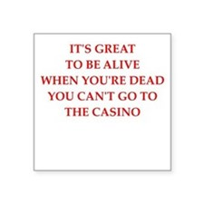 casino Sticker