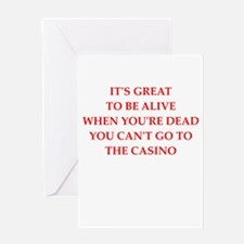 casino Greeting Cards