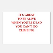climbing Postcards (Package of 8)
