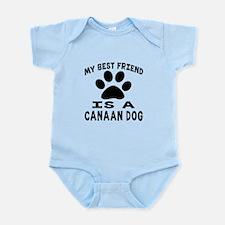 Canaan Dog Is My Best Friend Infant Bodysuit