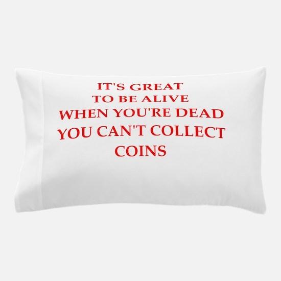 coins Pillow Case