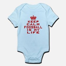 Keep Calm and Foosball Infant Bodysuit