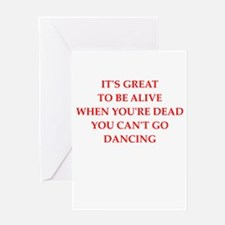 dancing Greeting Cards