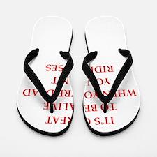 riding Flip Flops