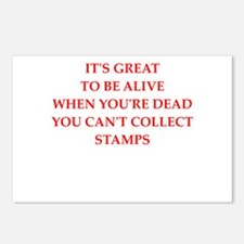 stamp Postcards (Package of 8)