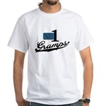 Number One Gramps White T-Shirt