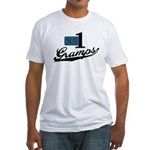 Number One Gramps Fitted T-Shirt