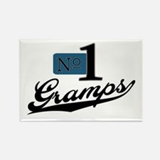 Number One Gramps Rectangle Magnet