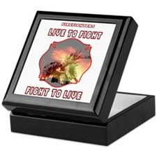 Live to Fight Keepsake Box