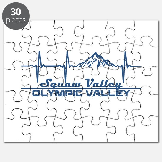 Squaw Valley - Olympic Valley - Californi Puzzle