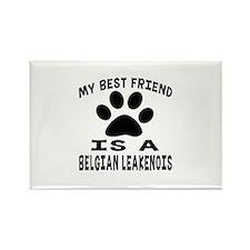 Belgian Leakemois Is My Rectangle Magnet (10 pack)