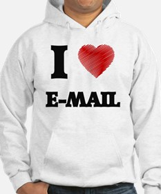 Unique I love email Hoodie