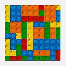plastic blocks Tile Coaster