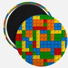 plastic blocks Magnets