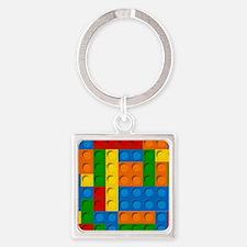 plastic blocks Keychains