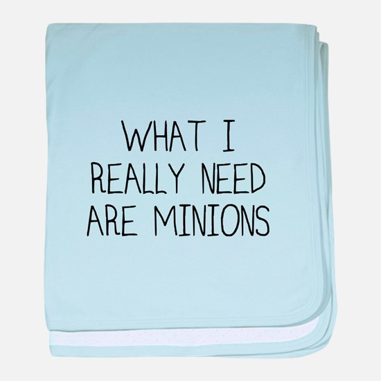 Minions baby blanket
