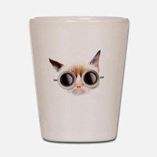 Coffee Cat Shot Glass