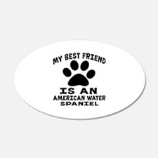 American Water Spaniel Is My Wall Decal