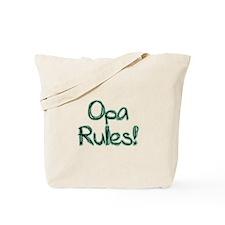 Opa Rules! Tote Bag