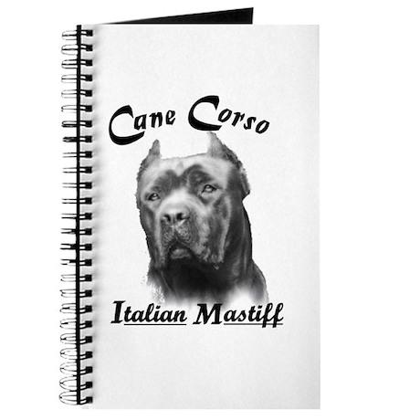 Cane Corso Head Journal