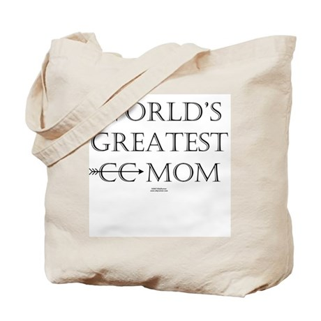 Greatest CC Mom Tote Bag