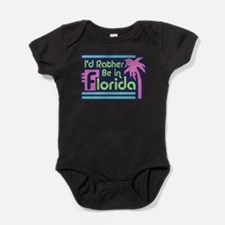Cute Made in florida Baby Bodysuit
