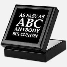 Cute Rubio president Keepsake Box