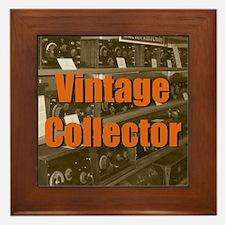 Vintage Collector Framed Tile