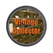 Vintage Collector Wall Clock