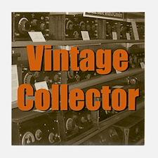 Vintage Collector Tile Coaster
