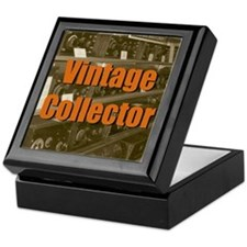 Vintage Collector Keepsake Box