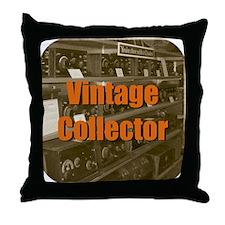 Vintage Collector Throw Pillow