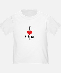 I Love (Heart) Opa T