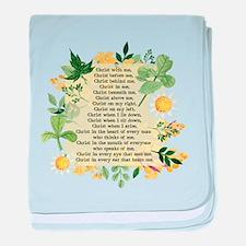 St. Patrick's Breastplate baby blanket