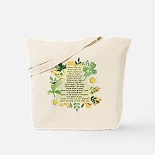 St. Patrick's Breastplate Tote Bag