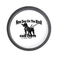 Cane Corso New Dog Wall Clock