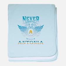 Never underestimate the power of anto baby blanket