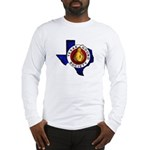 Texas Gourd Society Logo - Long Sleeve T-Shirt