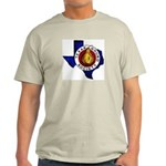 Texas Gourd Society Logo - Ash Grey T-Shirt