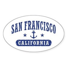 San Francisco California Decal