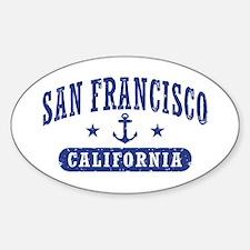 San Francisco California Decal