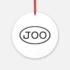 JOO Oval Ornament (Round)