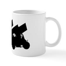Sprintcars-4abreast Small Mug