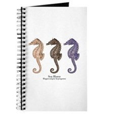 Sea Horse Vintage Art Journal