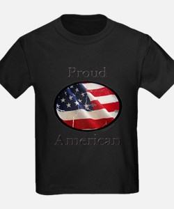 Cute Independence day girls T