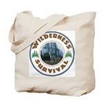 Wilderness Survival Tote Bag