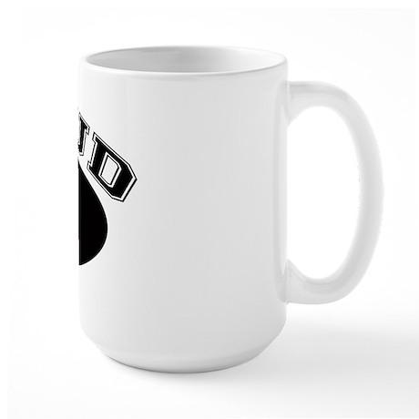 Proud Opa (black) Large Mug