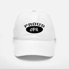 Proud Opa (black) Baseball Baseball Cap