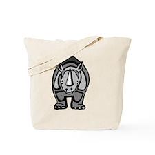 Cute Rhinoceros Tote Bag